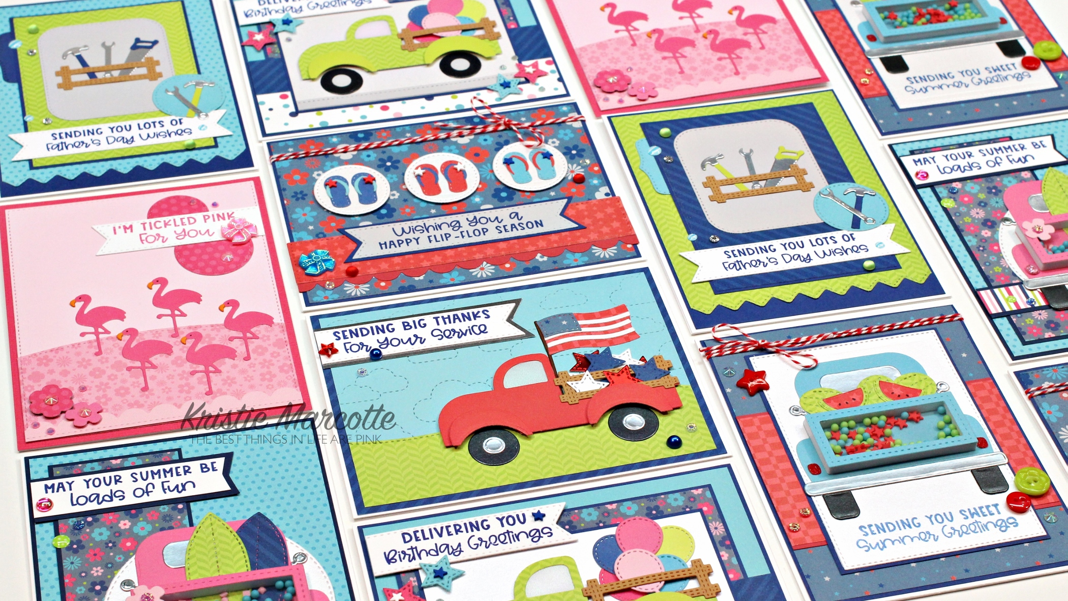Queen & Company – Special Delivery Summer Celebrations – 14 cards 1 kit