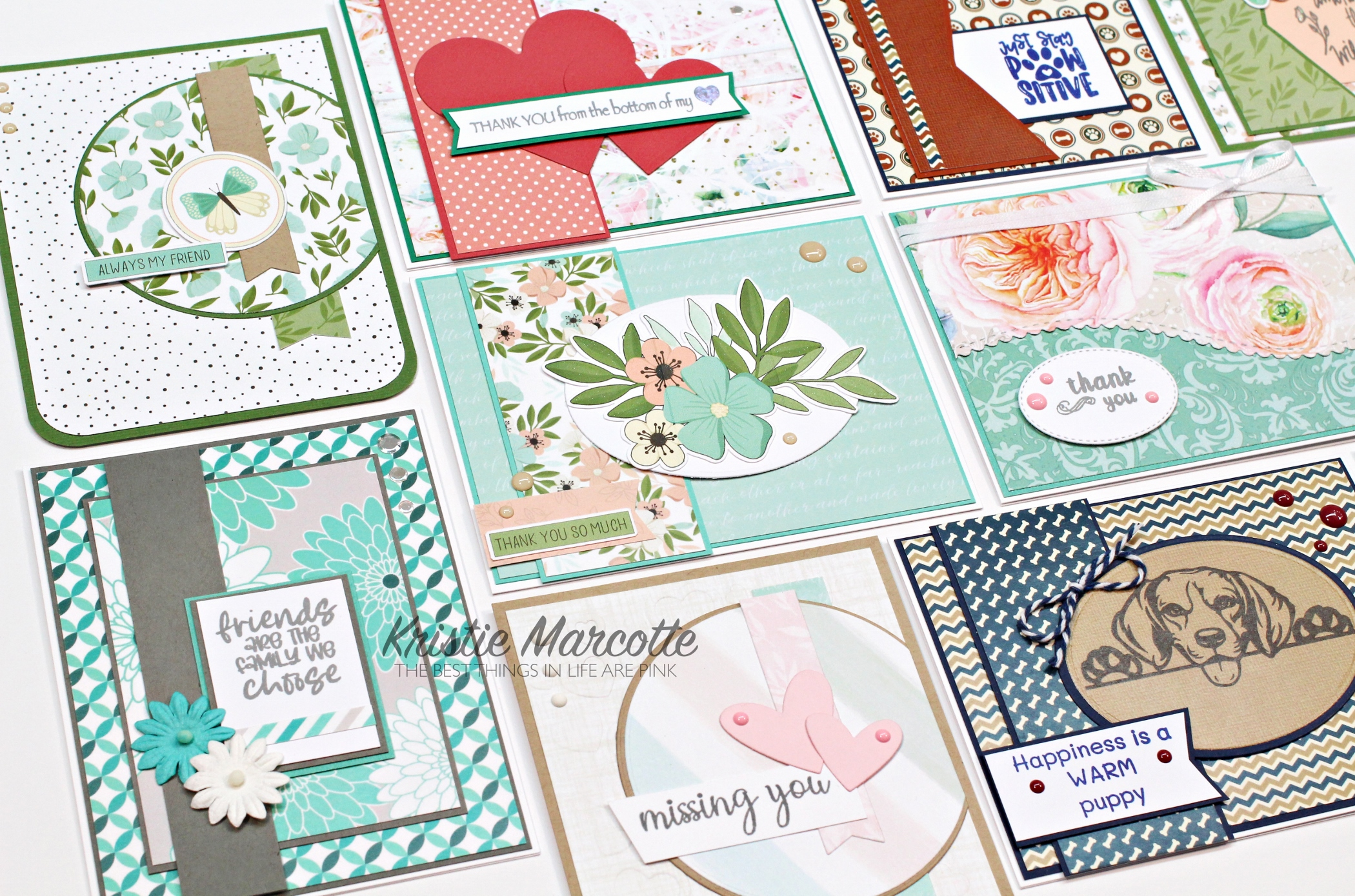 Scrapping For Less – November kit – 10 Cards 1 Kit