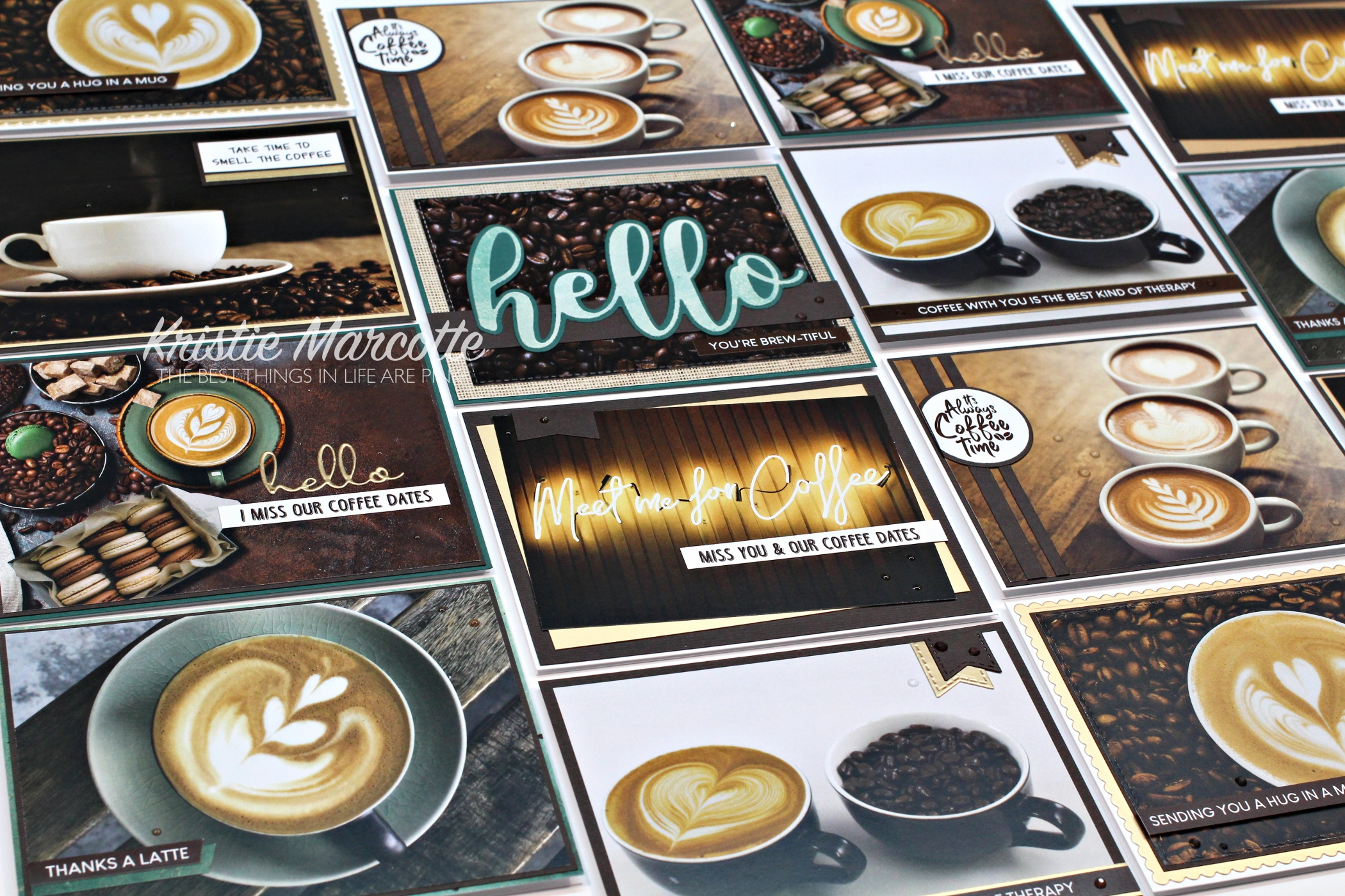 Paper Rose – Coffee Date – 16 cards 1 collection