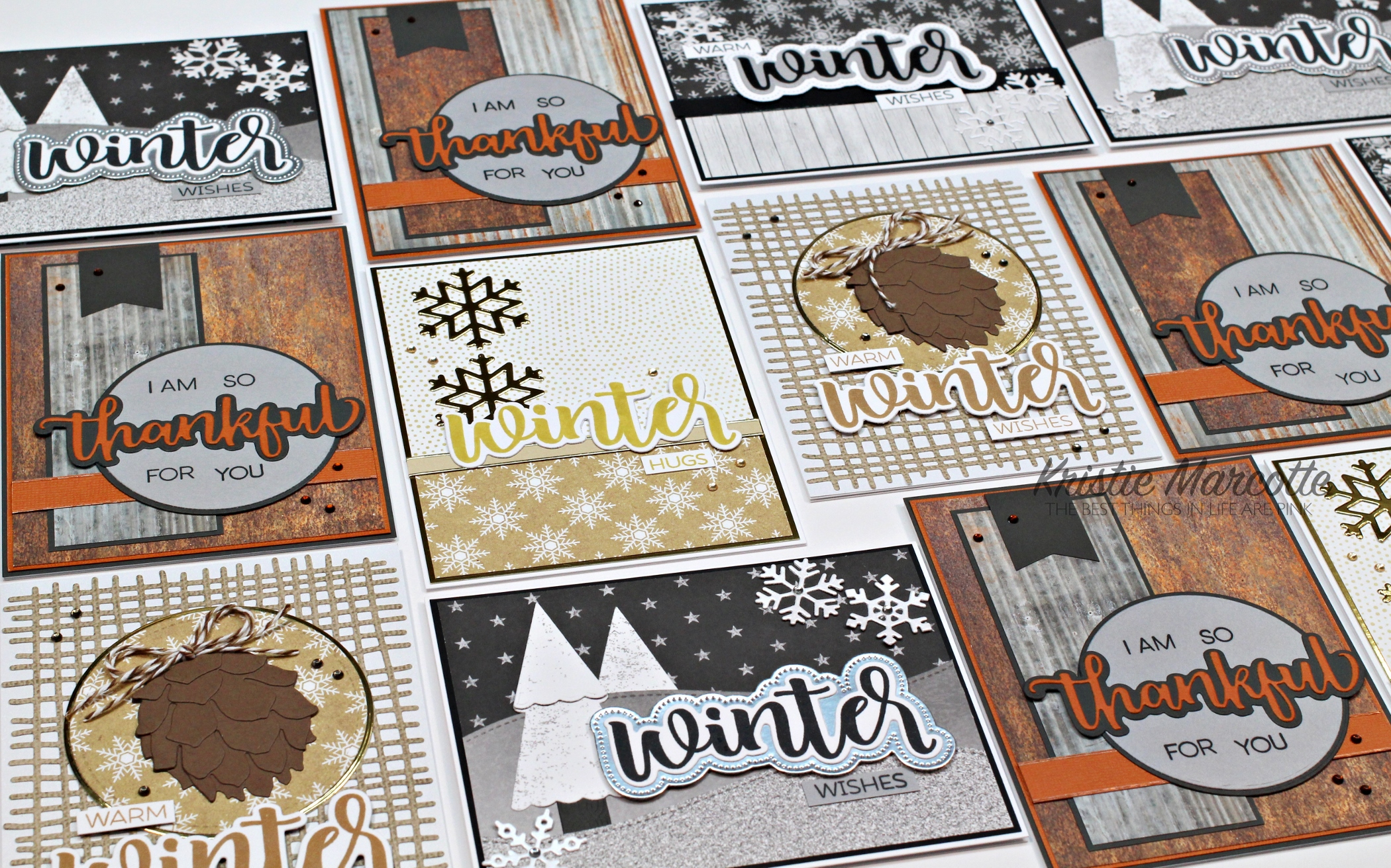 Honey Bee Stamps – Farm Fresh Holiday – 14 cards 1 collection