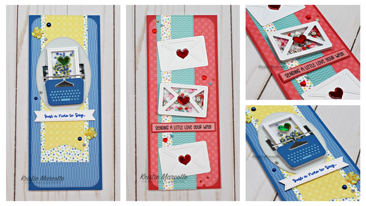Queen & Co.   Love Letter and Slimline die kits